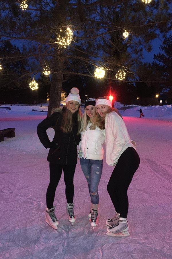 Skating In Town