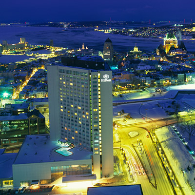 Hilton, Quebec city