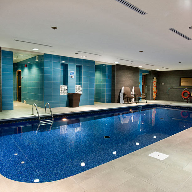 Chateau Laurier Quebec city salt water indoor pool