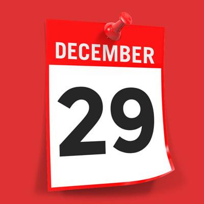 Due date December 29