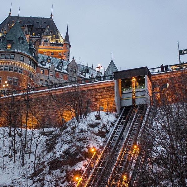 Québec city Funicular