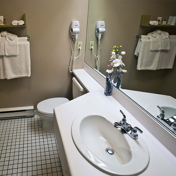 Hotel Stoneham Restroom