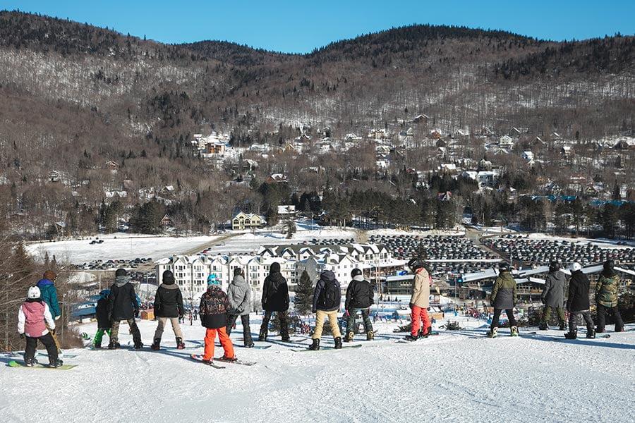 Hotel Stoneham slopeside