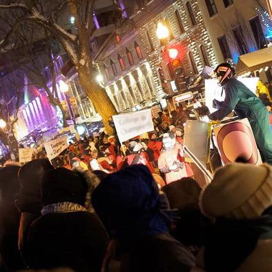 Québec city Carnival parade